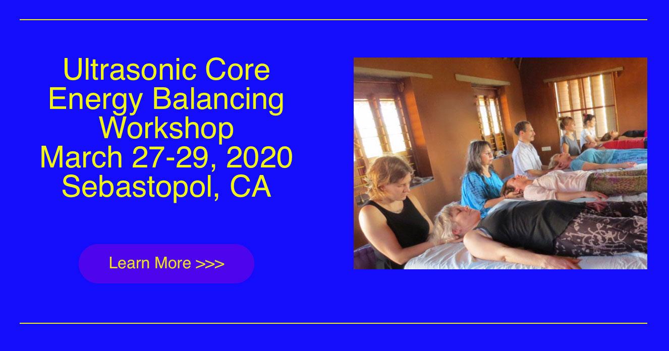 Energy Medicine, Unitive Consciousness, Transpersonal Psychology