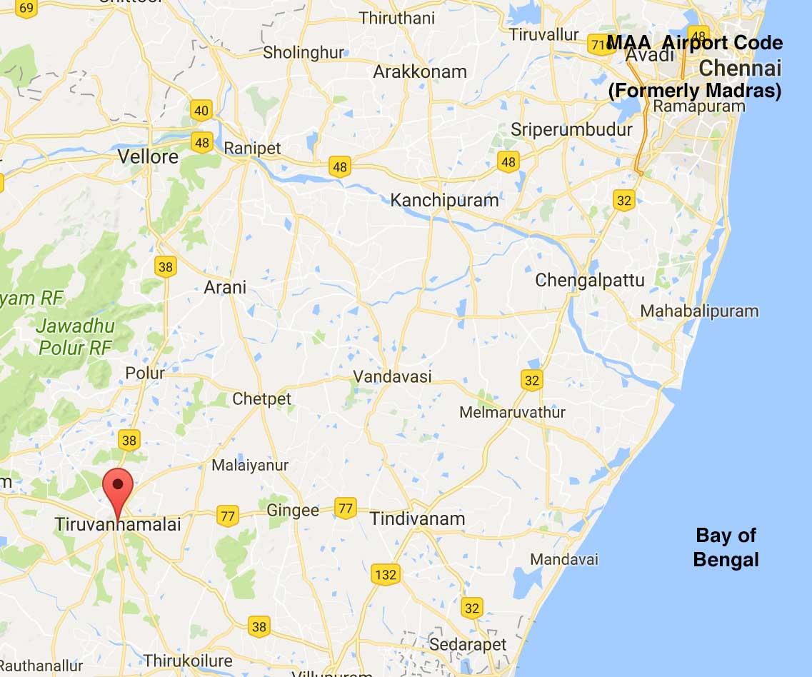 Tamel Nadu Map